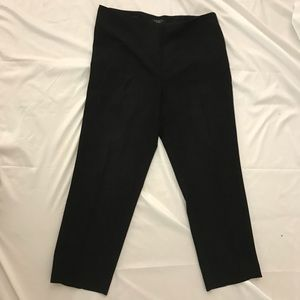 Talbots Petite 12 Beautiful Black Pants